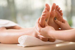 Traditional reflexology treatments
